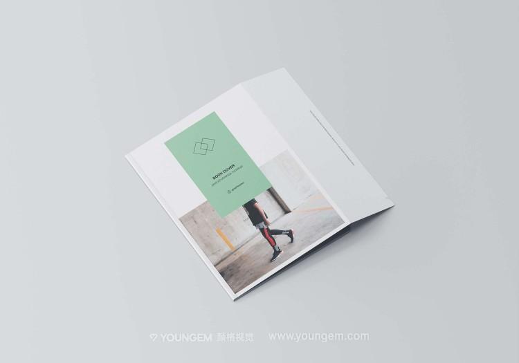 书籍画册封面封套样机素材图片