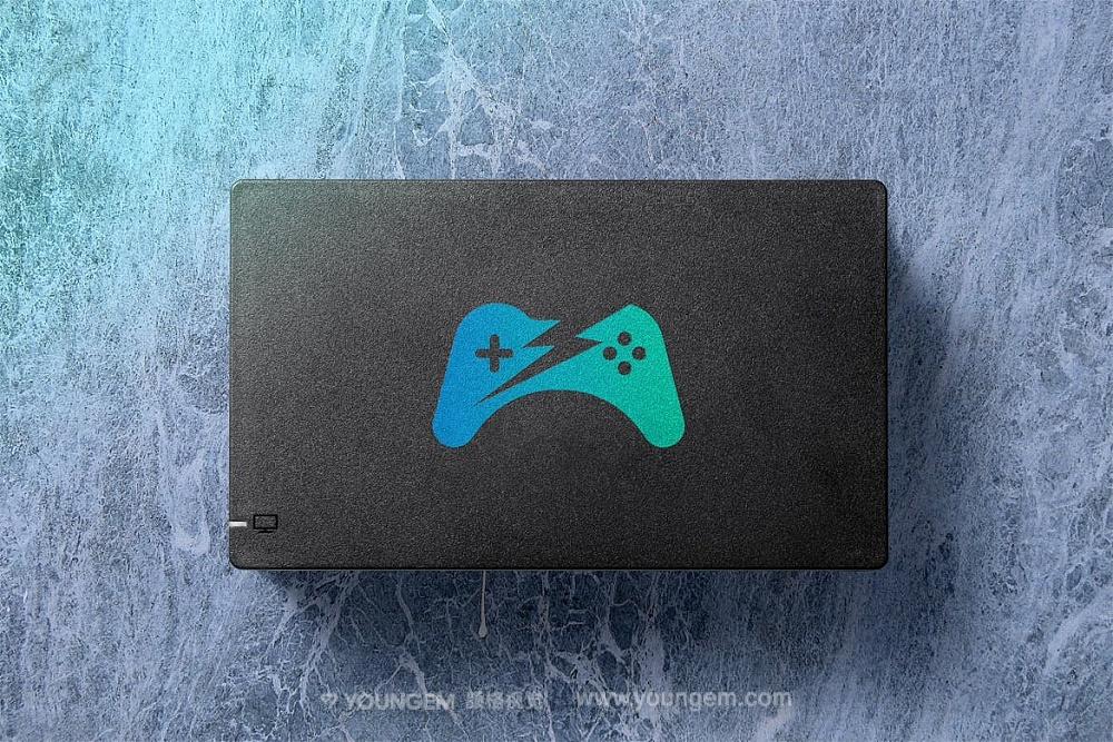 任天堂Switch游戏机屏幕贴图改色ps样机设计素材模板mockup源文件模板