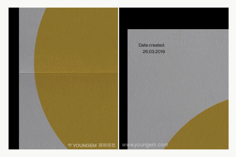 光影艺术纸纹折痕广告宣传单页海报ps样机素材mockup效果展示模板素材