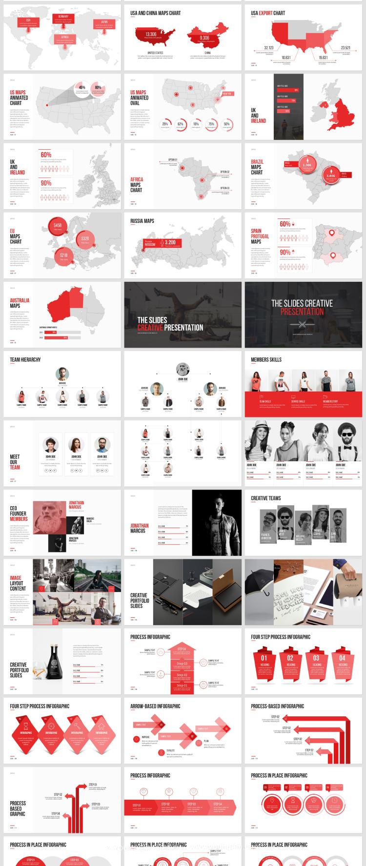 简洁商业提案简报营销ppt模板模板