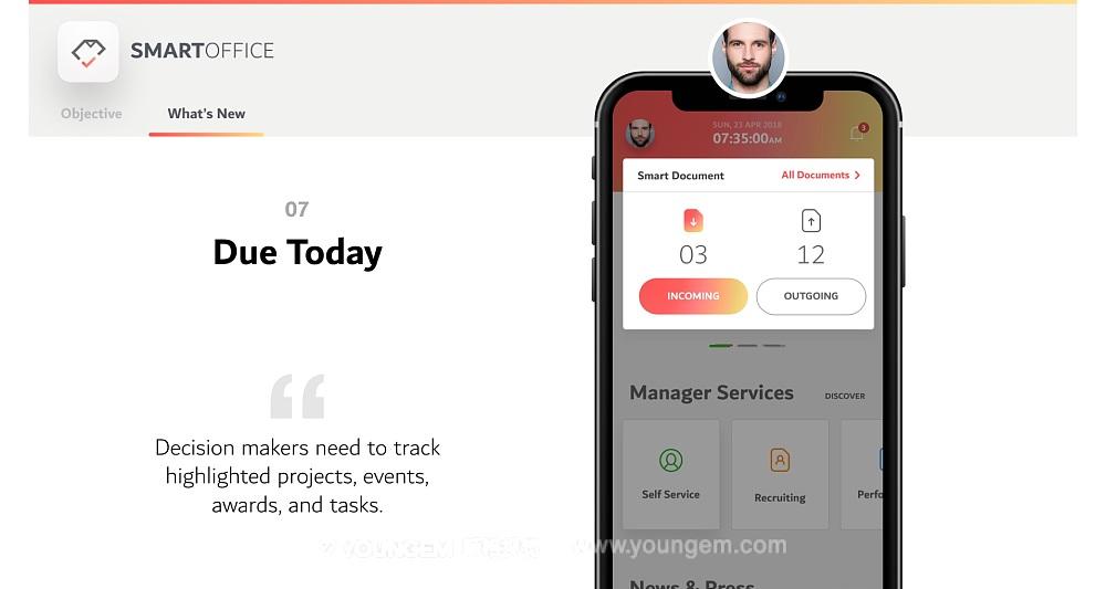 App项目展示PPT模板演示文稿key素材