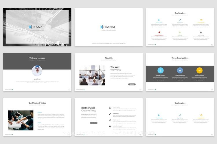 商务合作推广商业PPT模板演示文稿素材