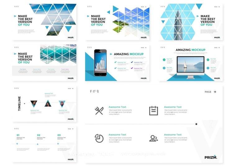 150款商业项目信息图表PPT模板演示文稿素材