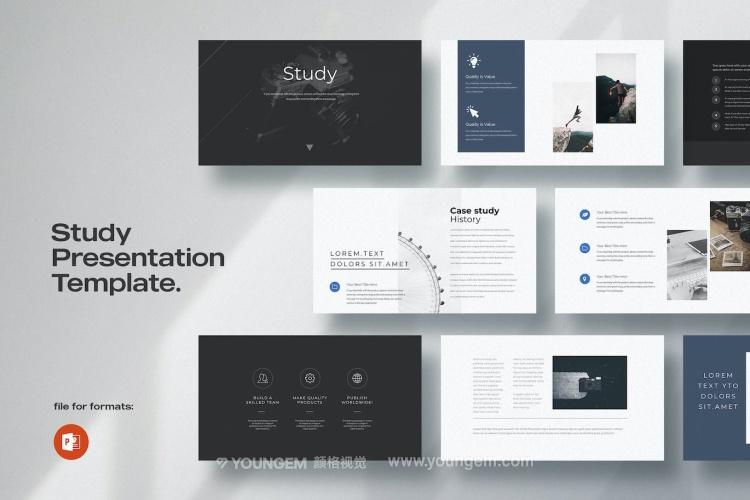 企业品牌广告推广PPT模板演示文稿key图片