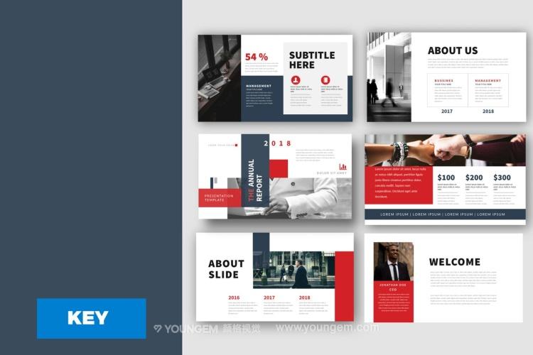 企业项目合作商务PPT模板免费下载图片
