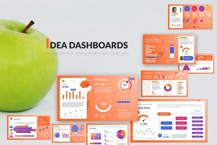 现代经典商业免费PPT模板下载(key格式)图片