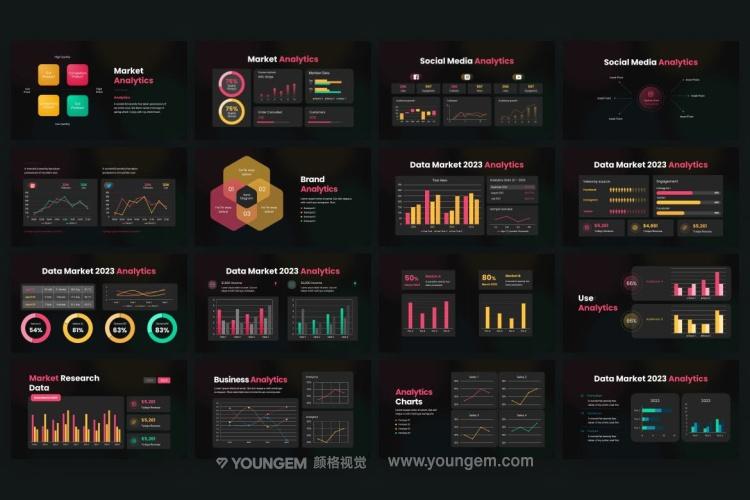广告营销推广商业PPT模板演示文稿素材