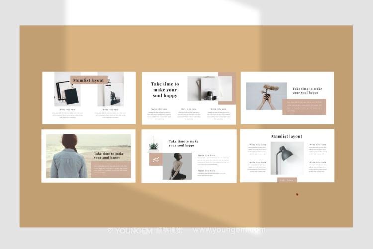 简约的公司商业项目介绍PPT模板演示文稿(key格式)模板