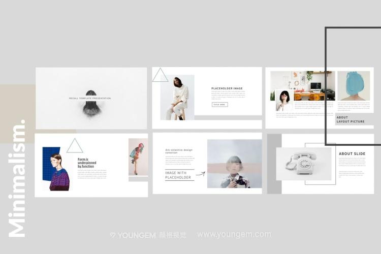 产品介绍商务ppt模板设计图片