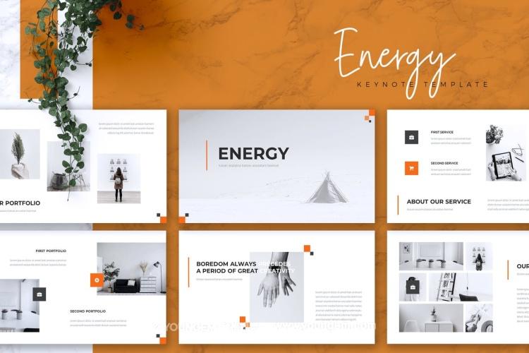多用途产品介绍商业PPT模板演示文稿(key格式)图片