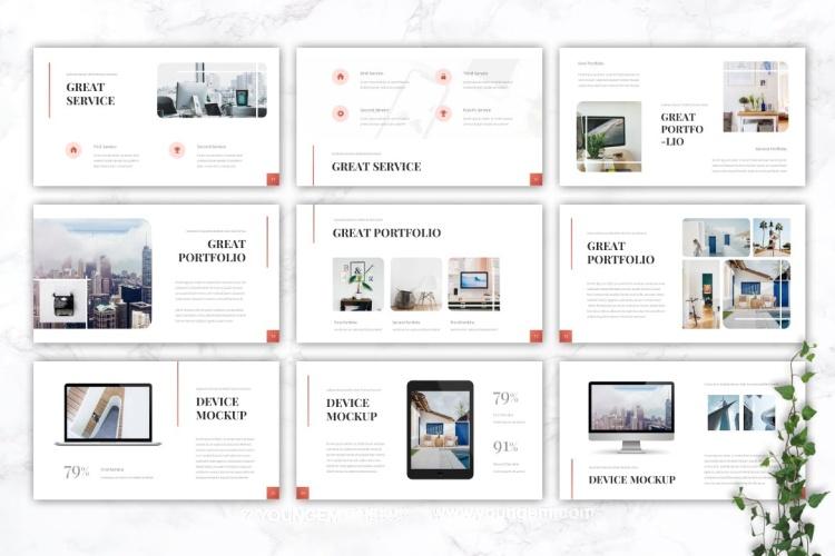 公司商业计划PPT模板演示文稿(key格式)模板