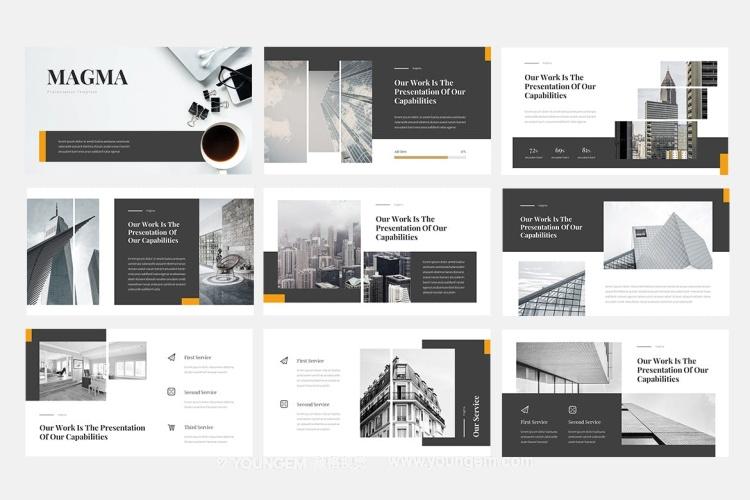 项目营销提案商业PPT模板演示文稿素材