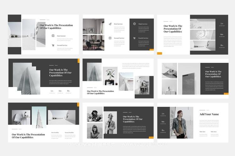 项目营销提案商业PPT模板演示文稿模板