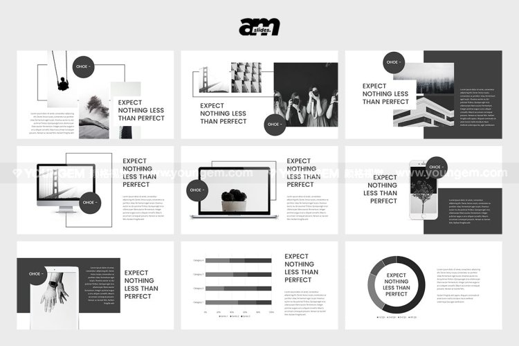 创意项目提案商务PPT模板演示文稿素材