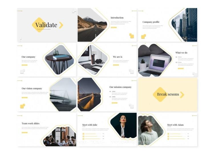 150款公司商业营销广告提案PPT模板演示文稿(key格式)素材