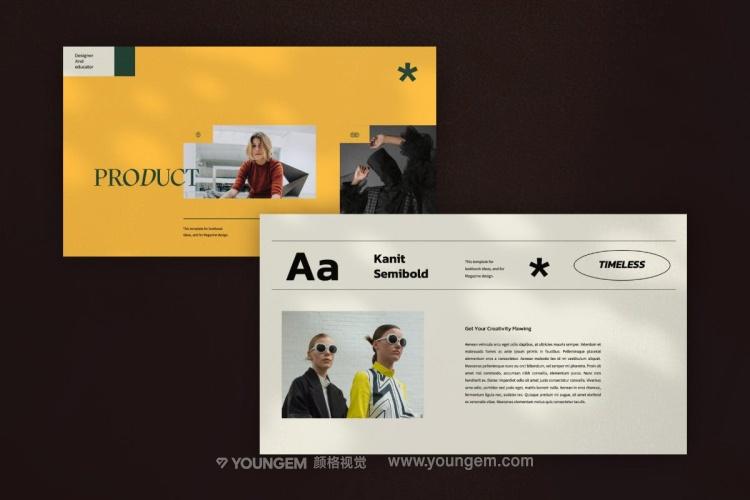 时尚极简市场营销方案ppt模板幻灯片素材下载素材