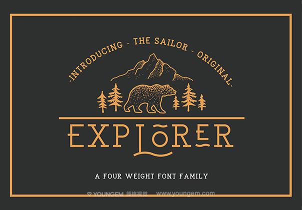 免费包装商标logo英文字体设计图片