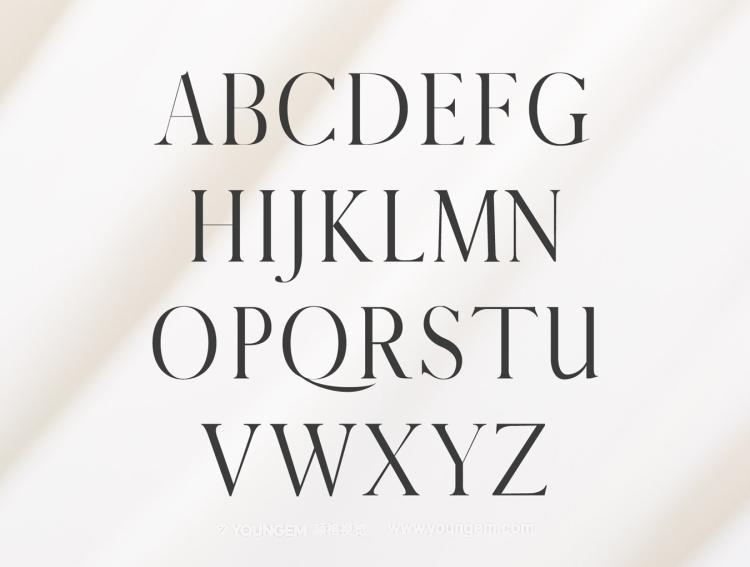 免费标题杂志广告英文字体设计图片