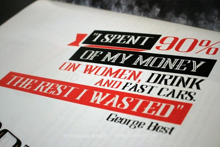 海报杂志商标logo英文字体设计模板