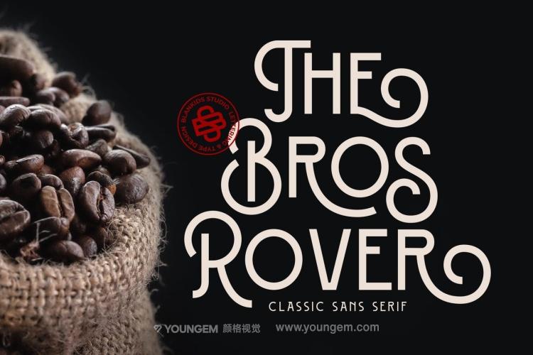 商品包装海报卡片商标logo设计艺术装饰英文字体下载图片