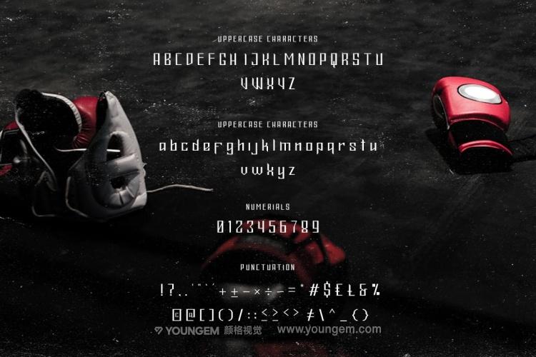 电影海报标题设计英文字体下载素材