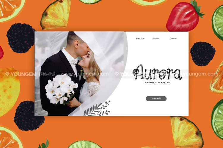 产品包装婚礼请帖设计装饰英文字体下载素材