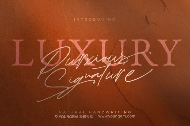 杂志宣传艺术签名手写英文字体下载图片