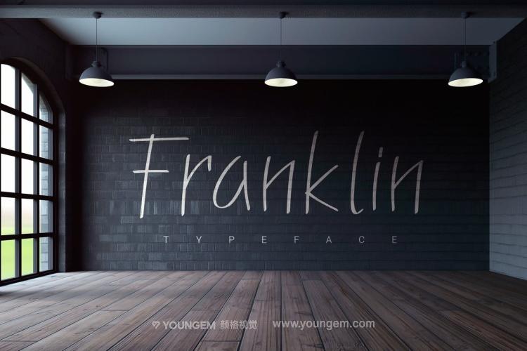 简洁的产品宣传广告英文字体设计图片