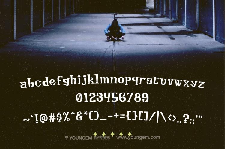 杂志书籍封面商标logo设计英文字体下载模板