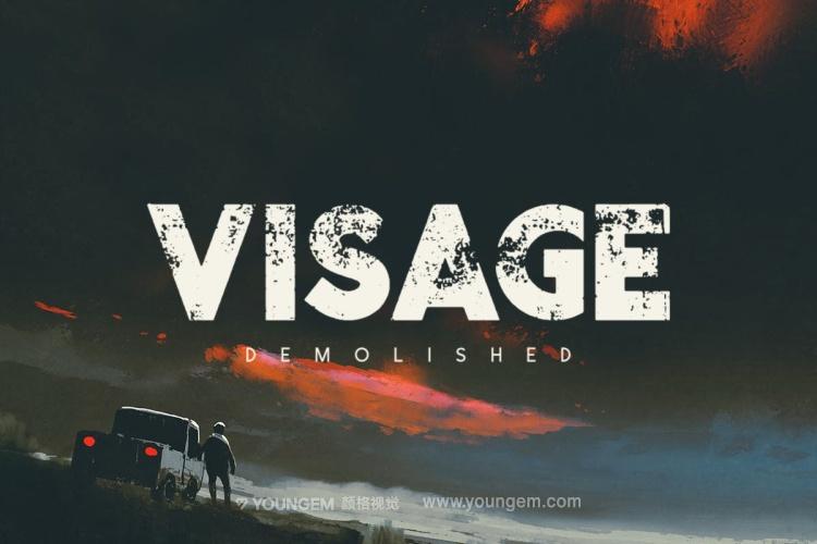 电影杂志海报标题设计英文字体下载图片