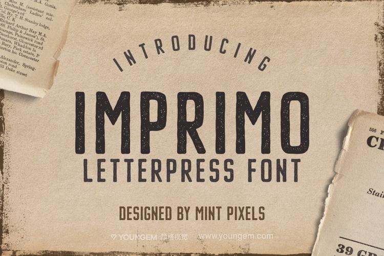 复古商品广告牌logo设计英文字体下载图片