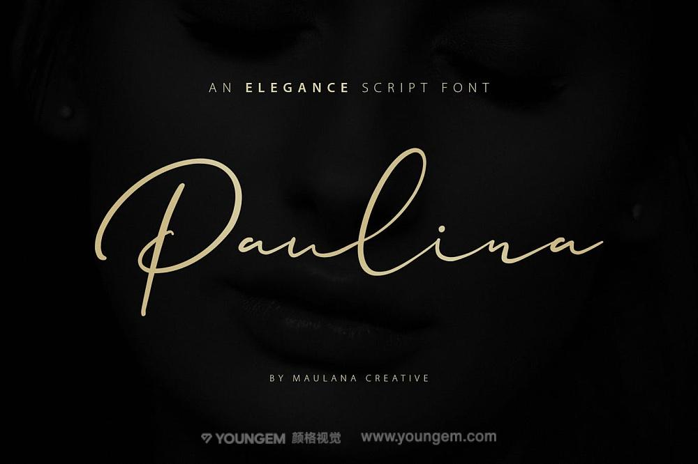 杂志书籍海报封面艺术签名英文字体设计图片