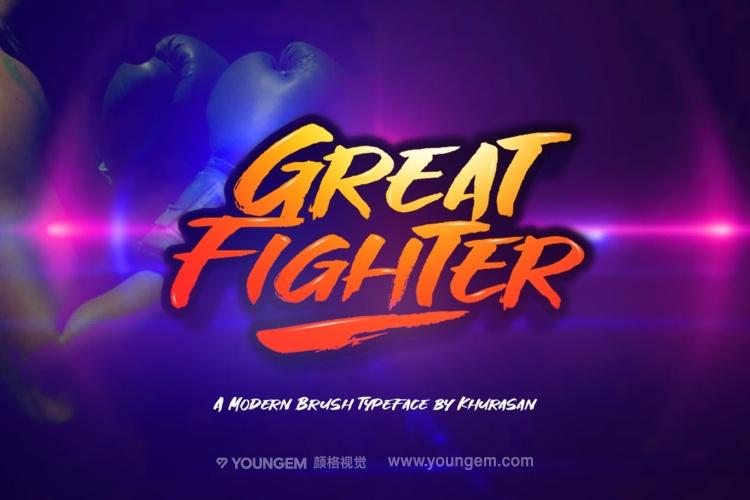 游戏电影海报标题英文字体设计图片