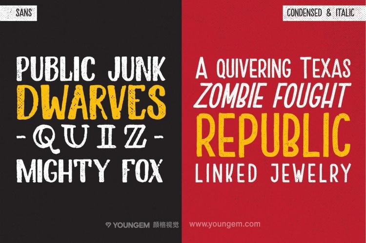 复古连字商标logo设计艺术手写英文字体设计模板