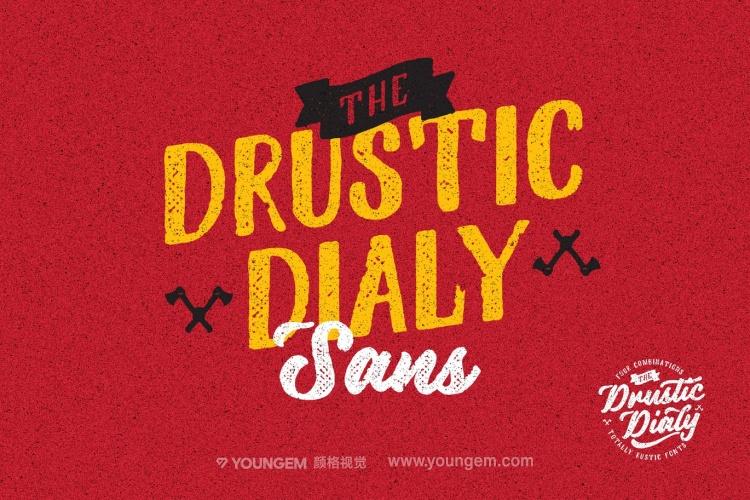 复古连字商标logo设计艺术英文字体下载图片