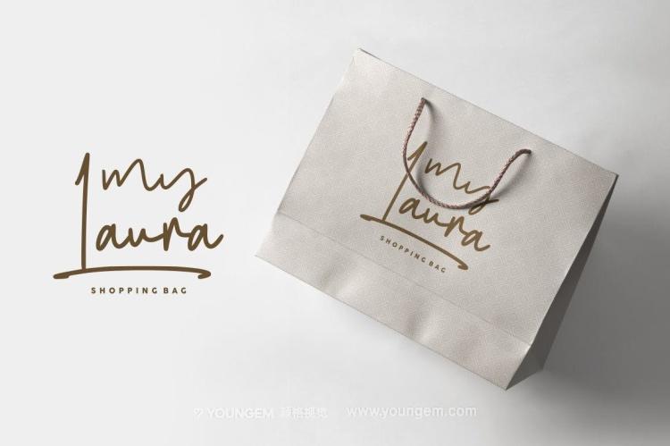 杂志包装封面设计艺术英文字体下载模板