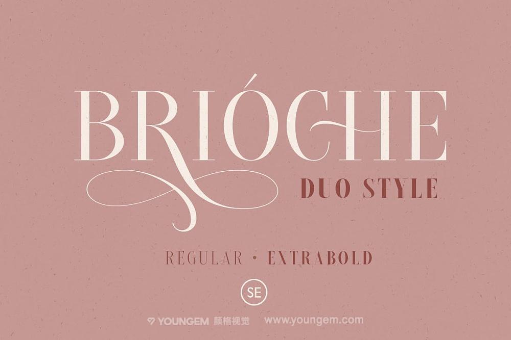 经典复古时尚人物杂志封面标题英文字体免费下载模板