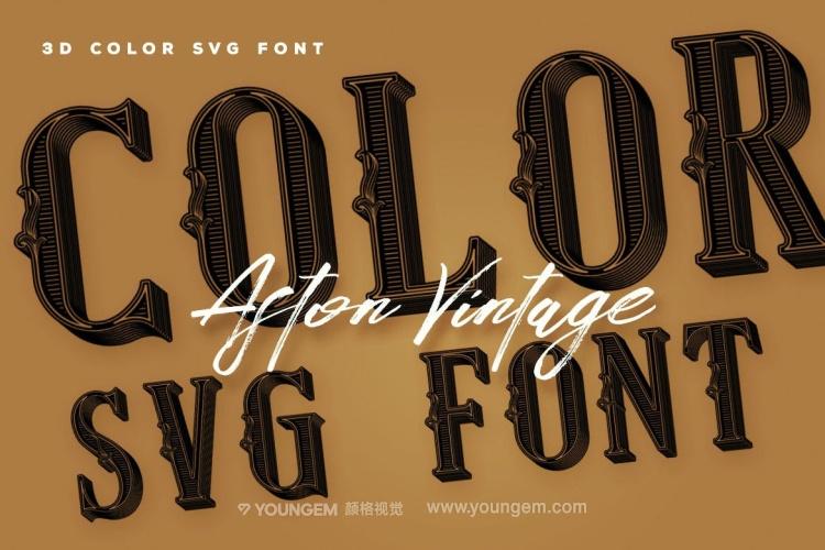 复古装饰英文艺术字体_复古装饰英文艺术字母素材下载图片