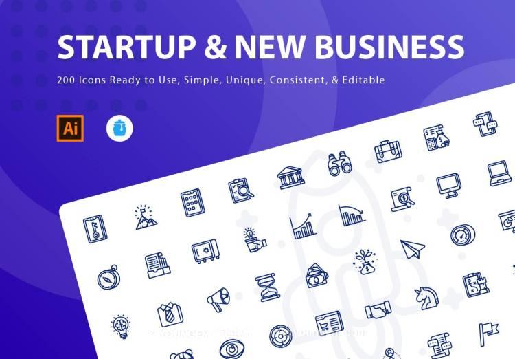 200款网站应用icon图标下载图片