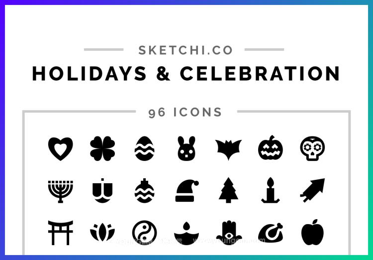 96款假期庆典艺术应用免费icon图标免费下载图片