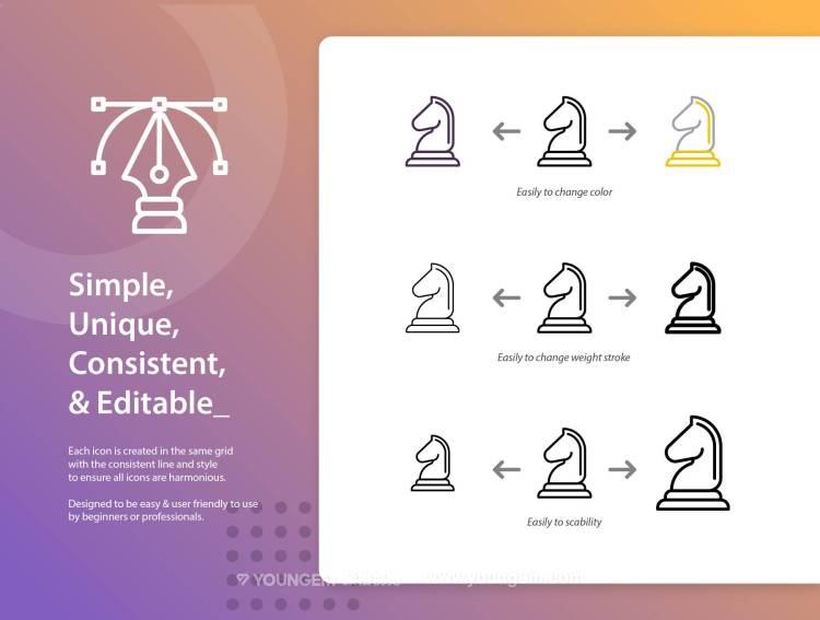 150款商业市场推广办公类应用icon图标下载模板