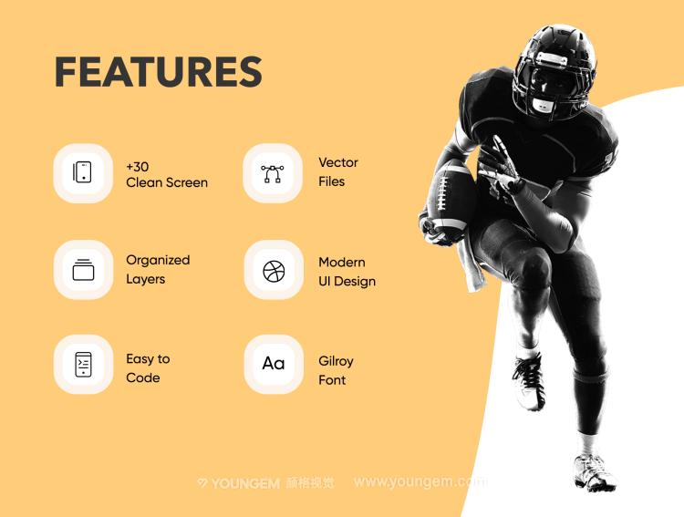 体育赛事直播app界面设计_体育竞技资讯平台ui设计图片