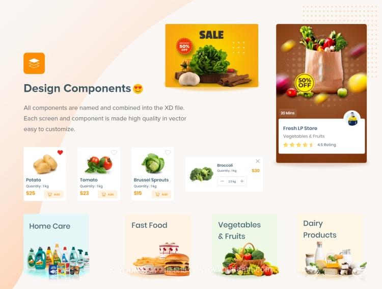 农产品电商app界面设计作品欣赏_农产品电商app界面设计模板下载素材